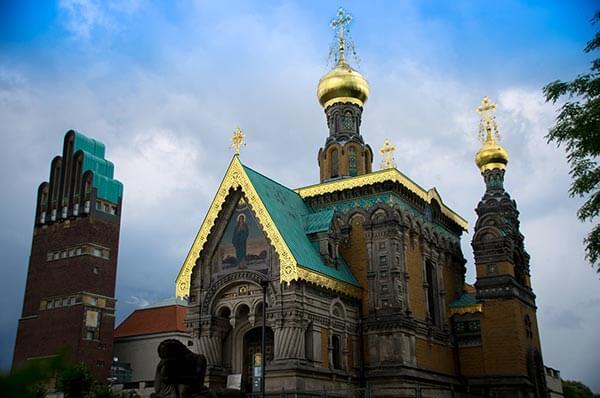 Zar Nikolaus II. von Russland ließ dieses Gotteshaus für seine Familie und seinen Hofstaat erbauen.