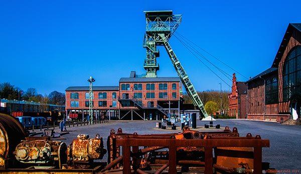 Kohleförderung und Stahlverarbeitung machten Dortmund Mitte des 19. Jahrhunderts zu einer bedeutenden Industriestadt.
