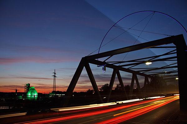 Der Stadthafen Hamm ist der zweitgrößte öffentliche Kanalhafen in Deutschland.
