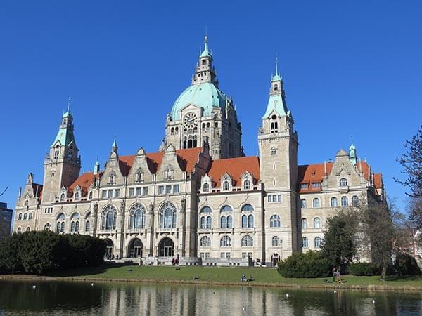 Das Neue Rathaus in Hannover ist der Hauptsitz der Stadtverwaltung und des Oberbürgermeisters.