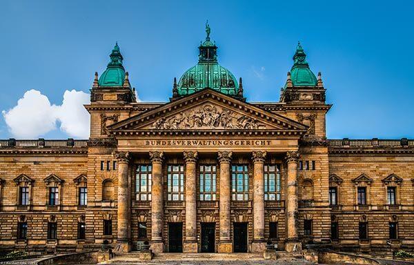 Das Bundesverwaltungsgericht im ehemaligen Reichsgerichtsgebäude in Leipzig ist eines der fünf obersten Gerichtshöfe der Bundesrepublik Deutschland.