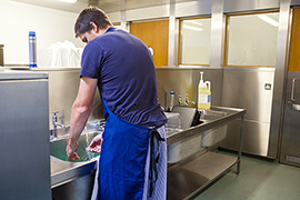 Bild Nebenjob als Küchenhilfe