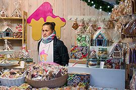 Bild Nebenjob als Verkäufer auf dem Weihnachtsmarkt