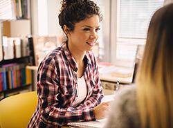 Bild Schüler/innen als Bürohilfe