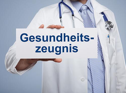 Bild Ratgeber: Gesundheitszeugnis für Schülerjobs