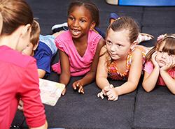 Bild Kinderbetreuung als Schülerjob