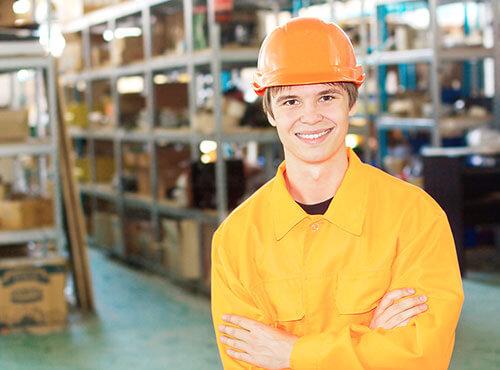 Bild Lagerarbeit als Schülerjob