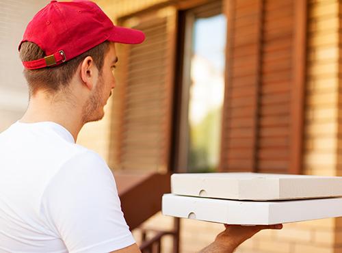 Bild Pizza ausliefern als Schülerjob