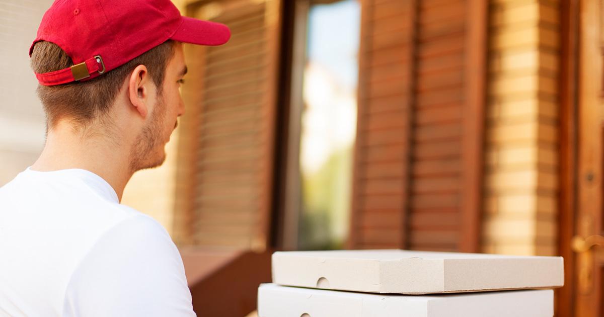 Pizza Ausliefern