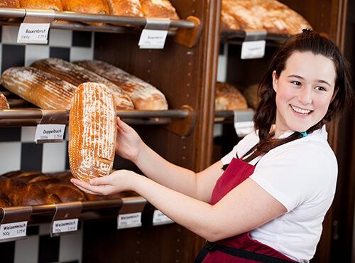 Bild Verkauf im Einzelhandel als Schülerjob