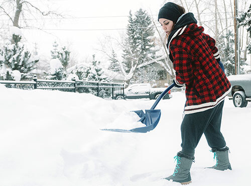 Bild Winterdienst als Schülerjob
