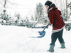 Bild Schüler/innen für den Winterdienst